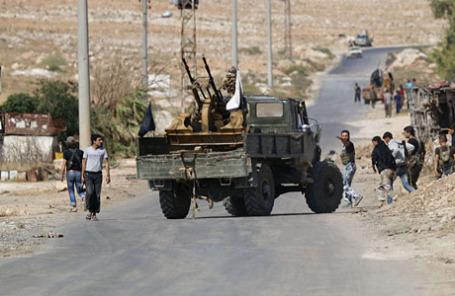 Боевики на севере Алеппо.