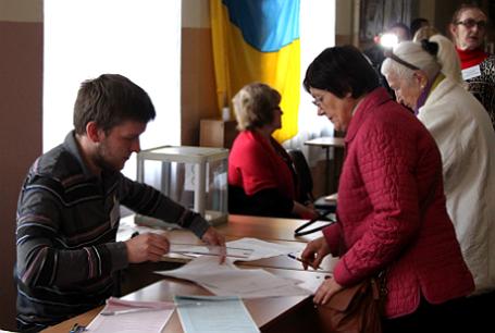 Выборы в органы местного самоуправления на Украине.