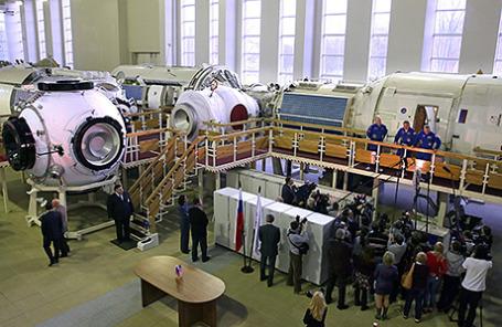 В Центре подготовки космонавтов в Звездном городке.