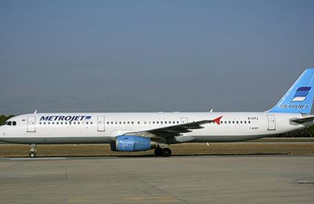 Самолет Airbus-321 авиакомпании «Когалымавиа».