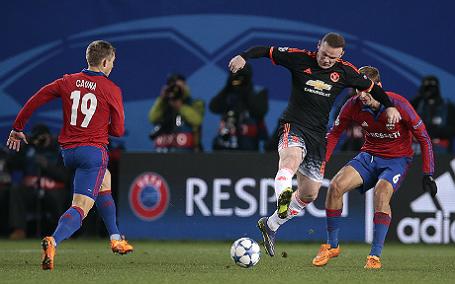 Лига чемпионов УЕФА: ЦСКА (Россия) — «Манчестер Юнайтед» (Англия) — 1:1.