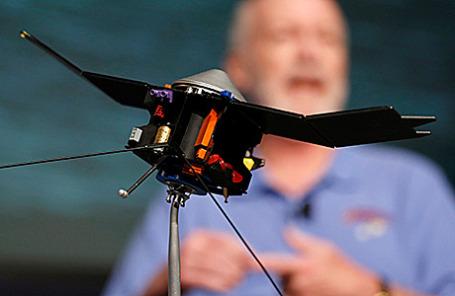 Модель зонда MAVEN.