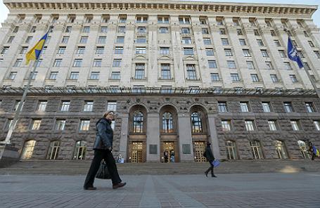 Киевский городской совет.