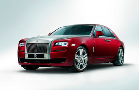 Rolls-Royce Ghost Series II 2015.