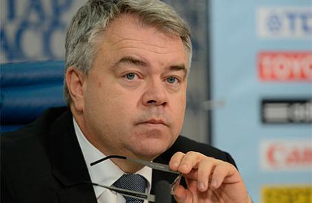 Генеральный секретарь федерации легкой атлетики Михаил Бутов.