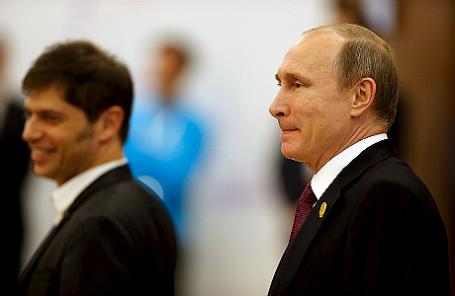 Президент России Владимир Путин на саммите G20 в Анталье.