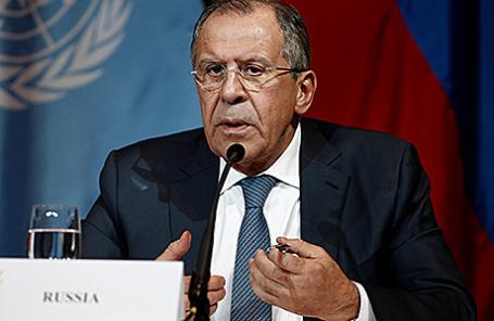 Министр иностранных дел Российской Федерации Сергей Лавров.
