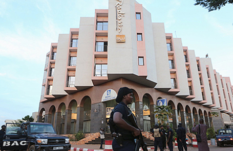 Отель Radisson Blu в Бамако, Мали, на который было совершено нападение террористов.