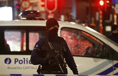 Бельгийский полицейский.