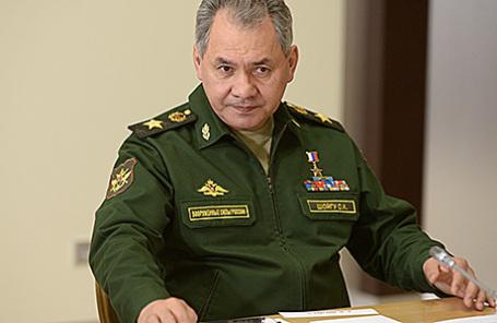 Министр обороны Российской Федерации Сергей Шойгу.