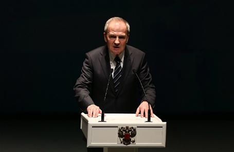 Председатель Конституционного Суда РФ Валерий Зорькин.