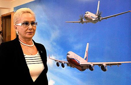 Председатель Межгосударственного авиационного комитета (МАК) Татьяна Анодина.