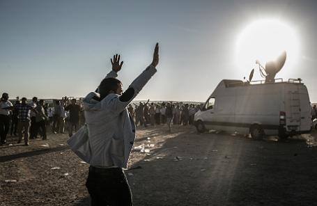 Ситуация на турецко-сирийской границе.
