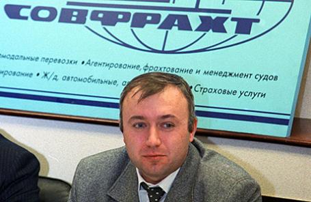 Председатель правления ПАО «Софрахт» Дмитрий Пурим.