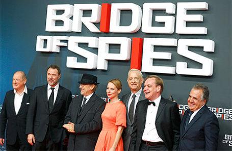 Премьера фильма Стивена Спилберга «Мост шпионов» в Берлине.