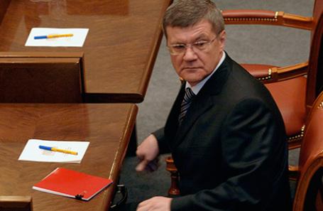 Генеральный прокурор РФ Юрий Чайка.