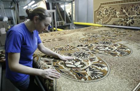 Работа турецкой ковровой фабрики «Меринос» в Ростове-на-Дону.