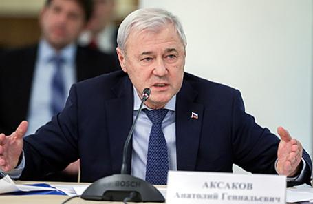 Председатель комитета Госдумы РФ по экономической политике, инновационному развитию и предпринимательству Анатолий Аксаков.