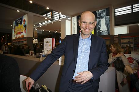 Французский журналист Николя Энен.