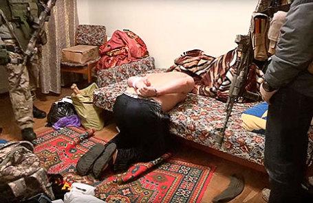 Задержание руководителя диверсионной группы в Киеве.