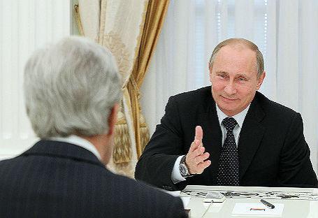 Встреча президента РФ и госсекретаря США.