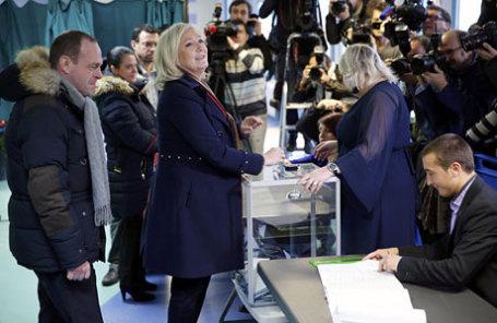 Лидер партии «Национальный фронт» Марин Ле Пен.