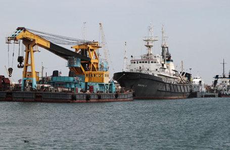 Работа газодобывающего предприятия «Черноморнефтегаз».