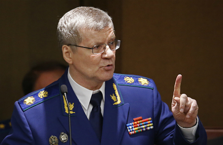 Генпрокурор РФ Юрий Чайка.