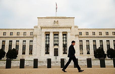 Штаб-квартира Федерального резервного фонда США в Вашингтоне.