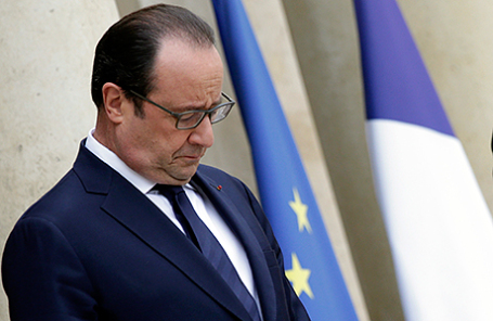 Президент Франции Франсуа Олланд.