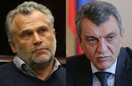 Председатель законодательного собрания Севастополя Алексей Чалый и Губернатор Севастополя Сергей Меняйло.