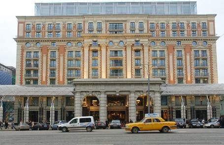 Отель Ritz-Carlton в Москве.