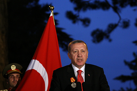 Президент Турции Тайип Эрдоган.