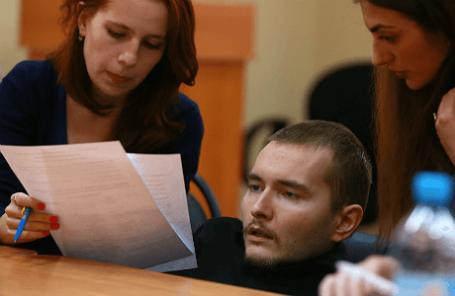 Россиянин В. Спиридонов, согласившийся на первую в мире операцию по пересадке головы