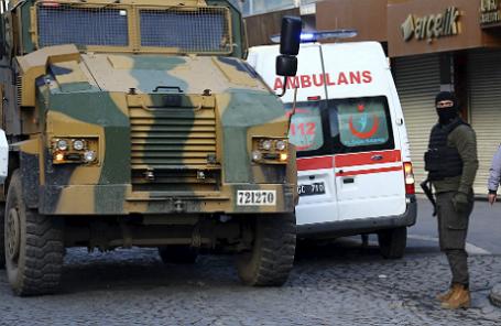 Турецкая полиция.