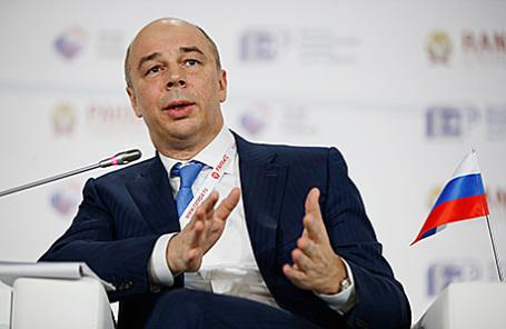 Министр финансов РФ Антон Силуанов.