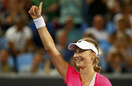 Российская теннисистка Екатерина Макарова.