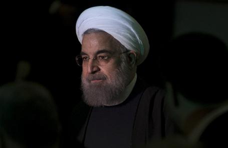 Визит президента Ирана Х. Роухани в Италию.