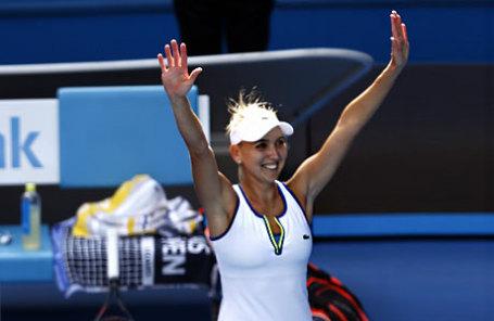 Теннисистка Елена Веснина.
