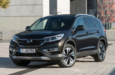 Honda CR-V - самый популярный кроссовер в мире в 2015 году.