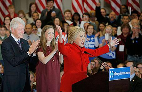 Предвыборная кампания кандидата на пост президента США от Демократической партии Хиллари Клинтон в Айове.