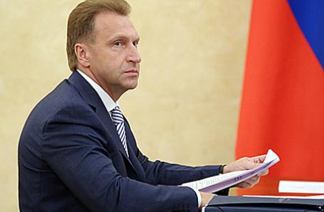 Первый вице-премьер РФ Игорь Шувалов.