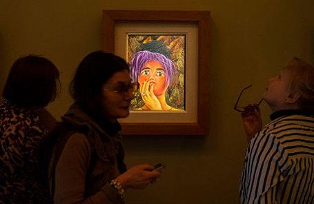 Открытие выставки картин Фриды Кало в Санкт-Петербурге.