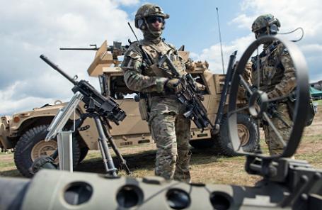 Военные учения НАТО в Польше.