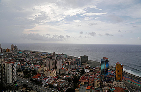Вид на Гавану, Куба.