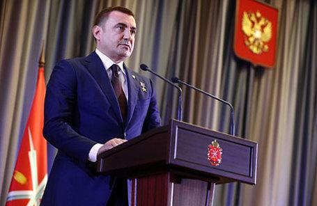 Временно исполняющий обязанности губернатора Тульской области Алексей Дюмин.