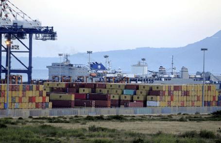 Перегрузка сирийского химического оружия в Италии на американский корабль