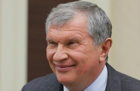 Глава компании «Роснефть» Игорь Сечин.