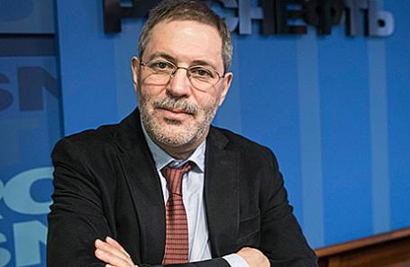 Вице-президент и пресс-секретарь «Роснефти» Михаил Леонтьев.