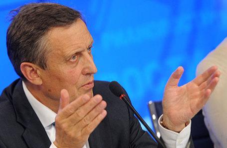Ректор университета им. Г.В. Плеханова Виктор Гришин.